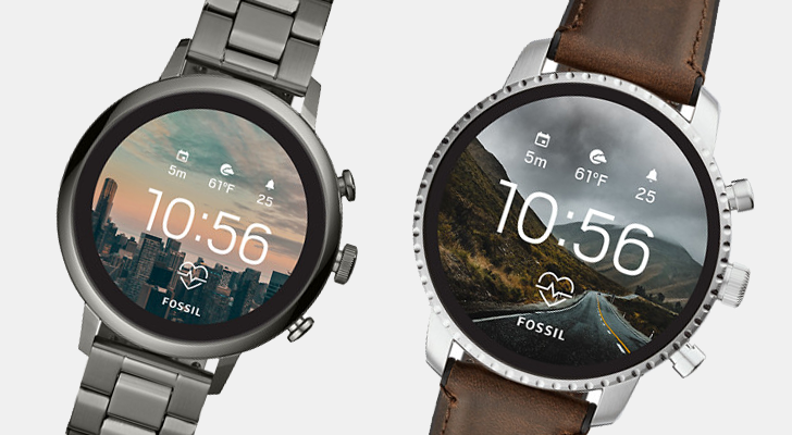 Fossil intros new Wear OS smartwatches with heart rate tracking and Global Positioning System