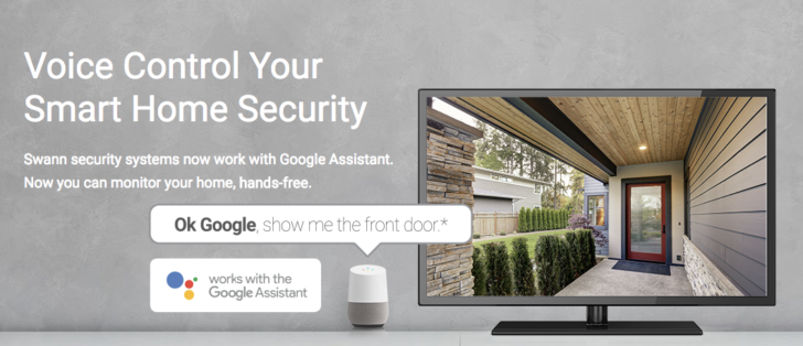 Swann wired security cameras now support Google Assistant