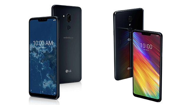 LG unveiled the smartphone One G7 with flagship features