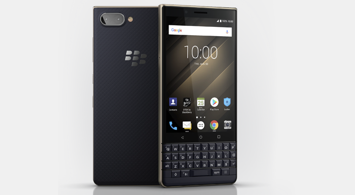 BlackBerry Debuts $400 KEY2 LE Smartphone With Redesigned Keyboard