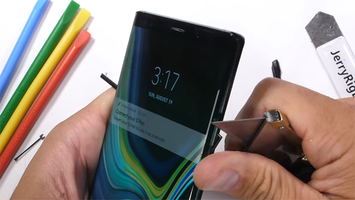 Samsung Galaxy Note 9 Bluetooth-Enabled S Pen Launched in India
