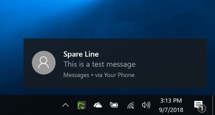 Everyone can now mirror notifications between their Android phone and Windows 10 PC