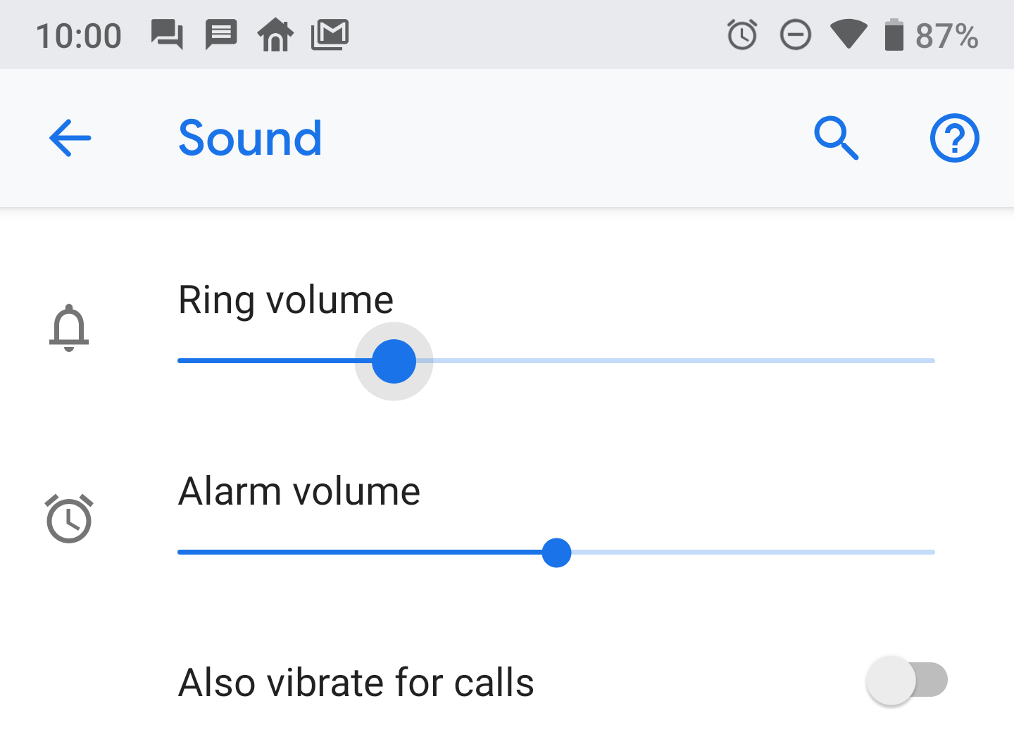 There's no way to silently change the ringer volume in Android Pie