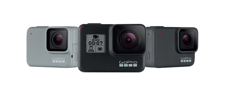 GoPro unveils Hero7 line with enhanced image stabilization, live streaming [APK download]