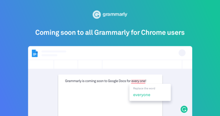 Grammarly For Chrome Starts Rolling Out Google Docs Beta Support To - Google docs