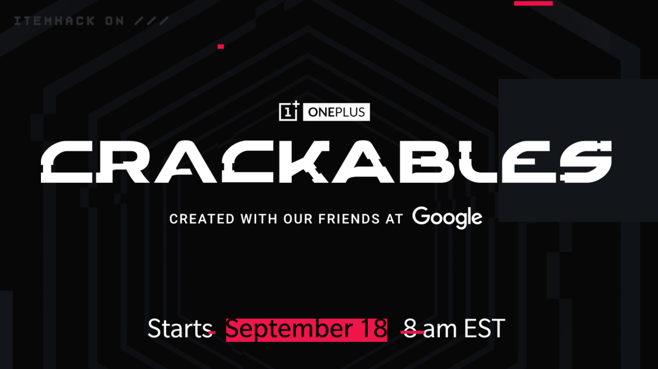 OnePlus and Google Launch Crackables Puzzle Game; Grand Prize Worth $30,000