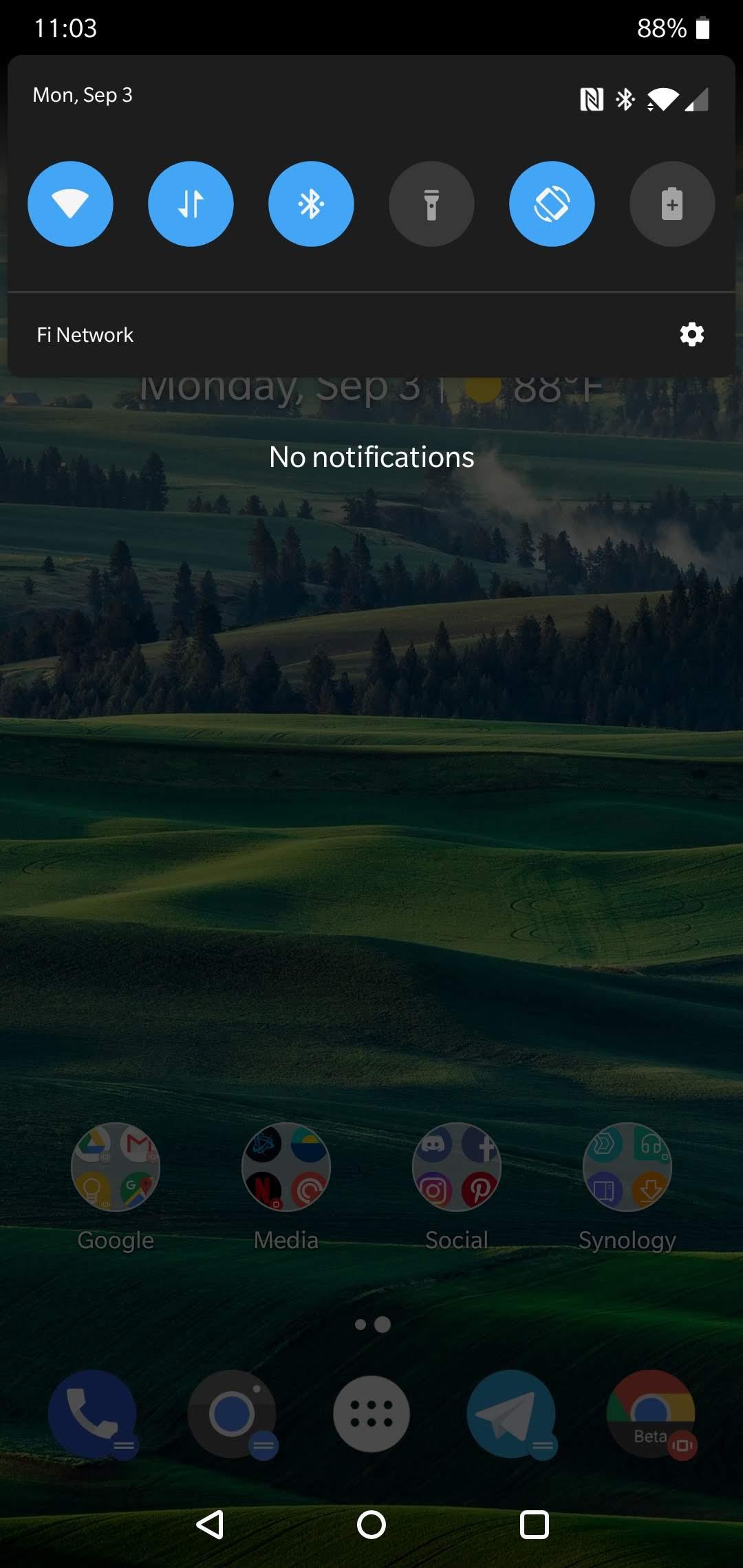 screenshot oneplus 6