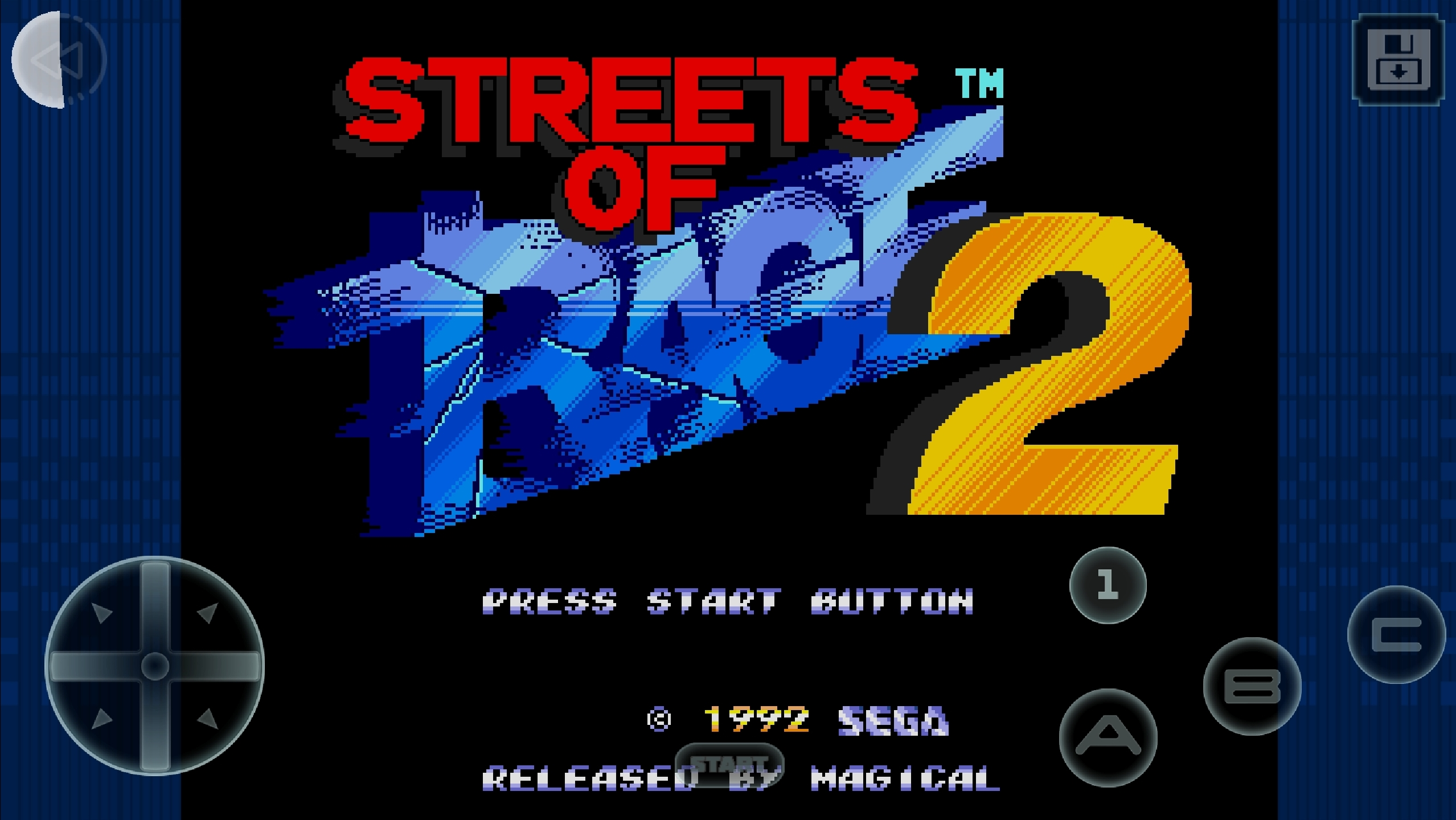 Streets Of Rage 2 Classic Is The Latest Sega Forever Title On The