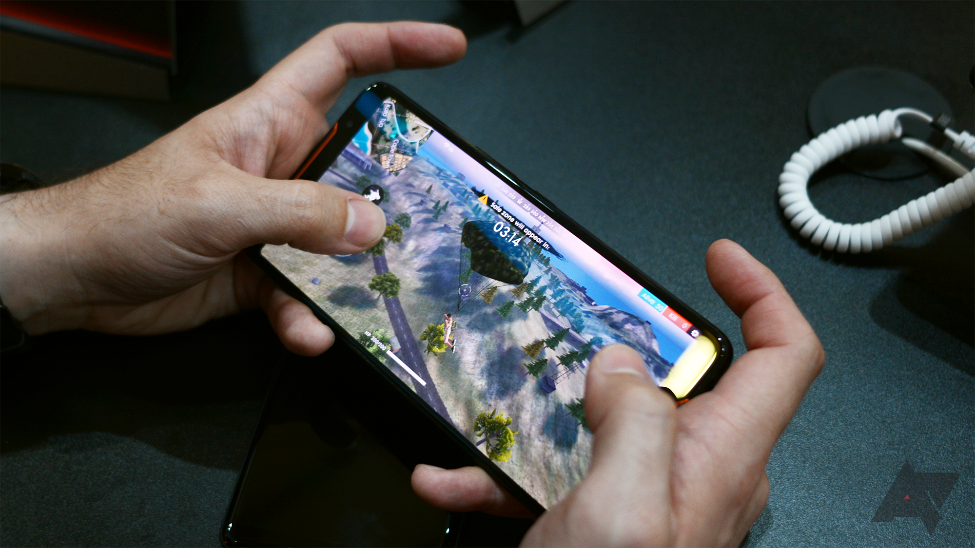 Hands On With The Asus Rog Phone It S Actually Kind Of Cool