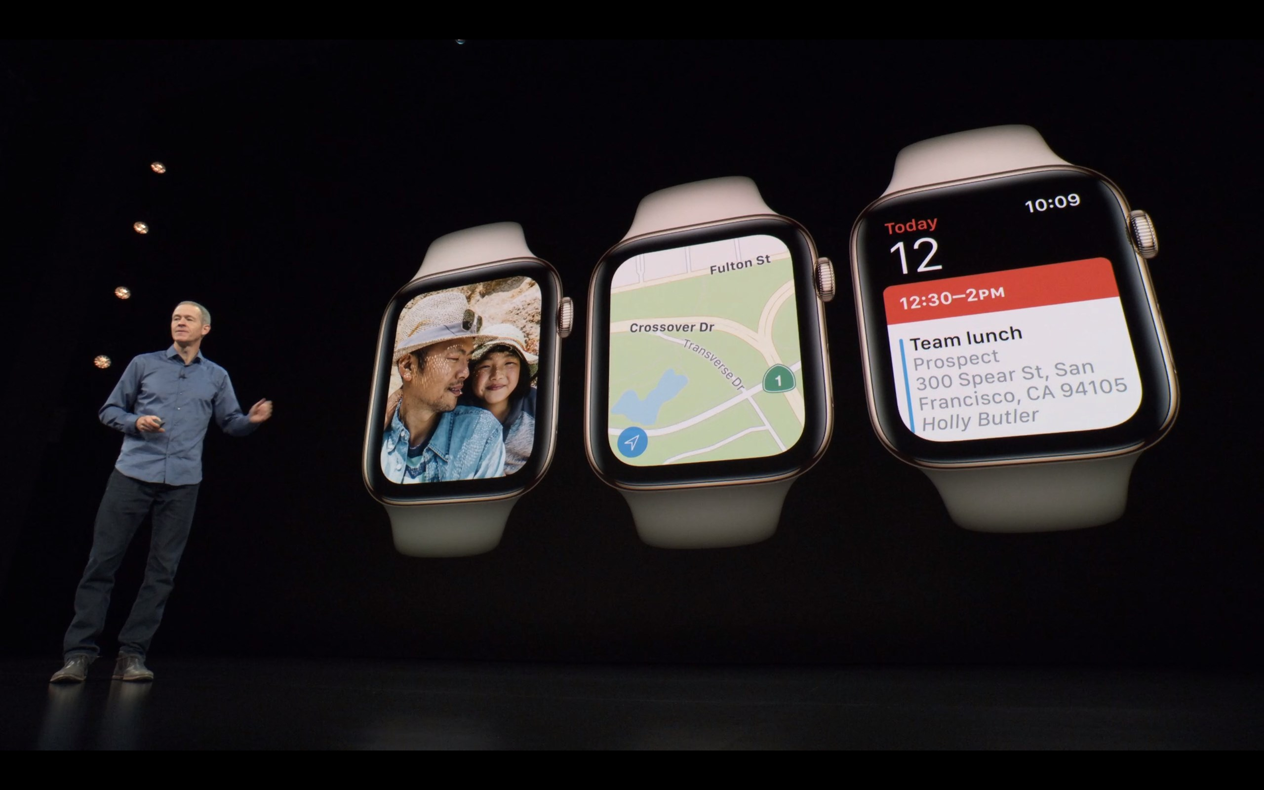Android police talks apple the biometric gap shifting but through all of this i feel like the real winner of the show was the apple watch its looking really good forget that its square we all know thats publicscrutiny Choice Image