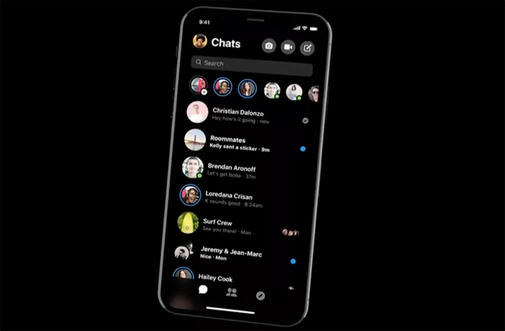 Facebook Messenger is testing dark mode, but only in some countries