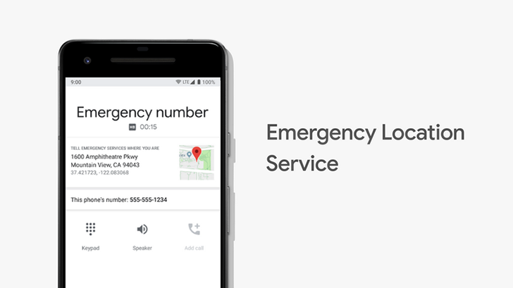 Google's 'Emergency Location Service' for Android comes to US