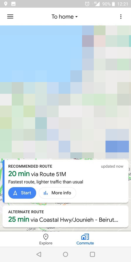 Google Maps is testing a combined Commute tab to replace Driving and on
