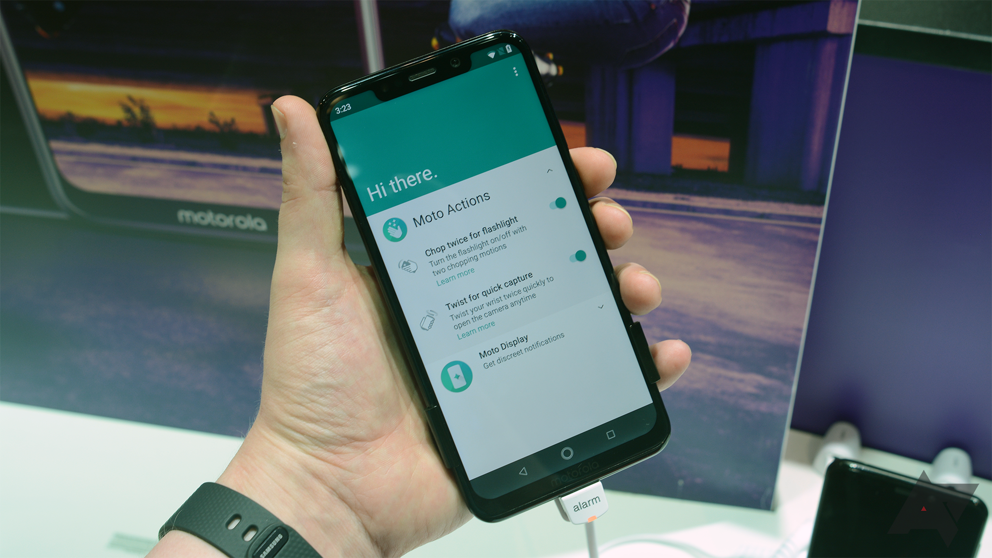 Hands on with the Motorola One and One Power: One of these