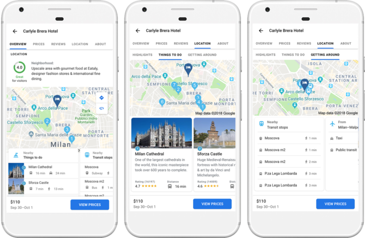 Google makes it easier to keep track of travel research