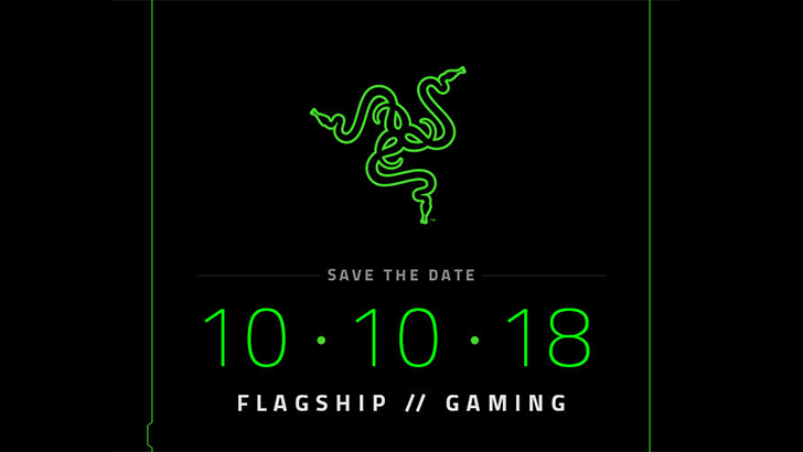Razer Phone 2 making its debut on October 10