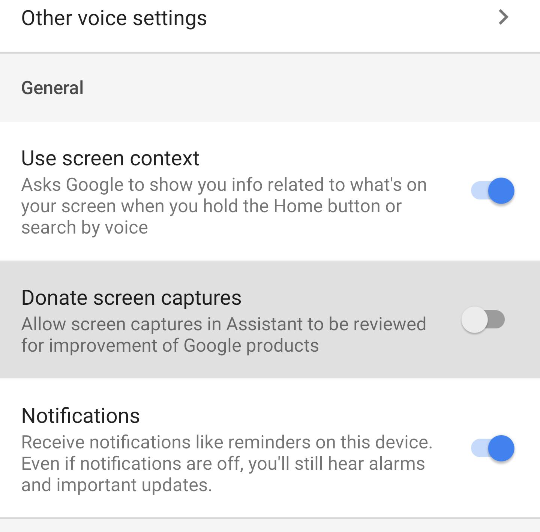 Google app v8 20 beta adds screenshot donation, renames