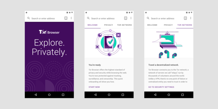 New Tor browser Alpha released on Play Store Today with better features