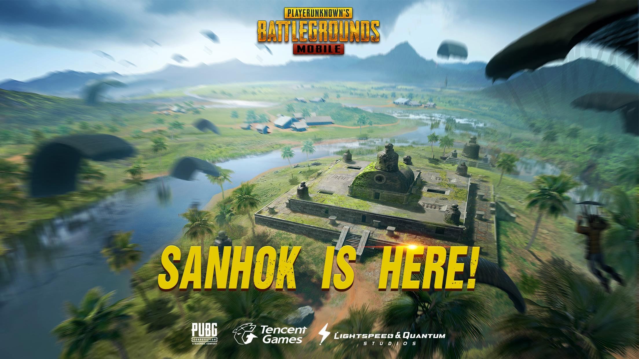 Download Pubg Mobile: PUBG Mobile V0.8.0 Adds Sanhok Map, New Vehicles, And More