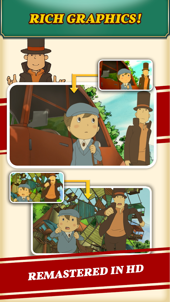 Professor Layton and the Curious Village brings its mind