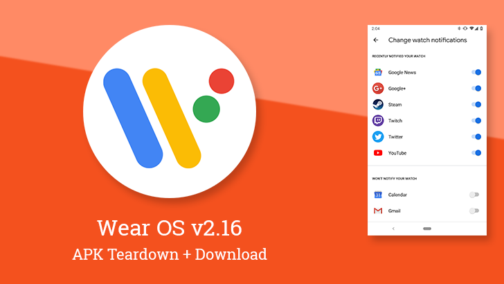 Wear OS v2 16 prepares priority notifications for favorite