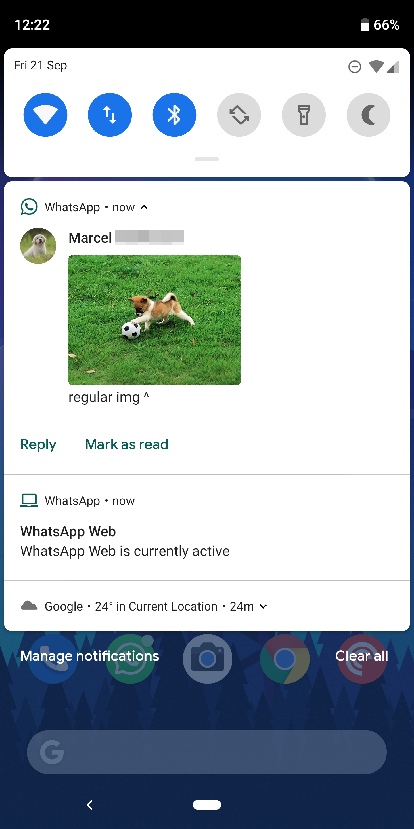 Adds Native Whatsapp Android Inline Notification Pie's Photos