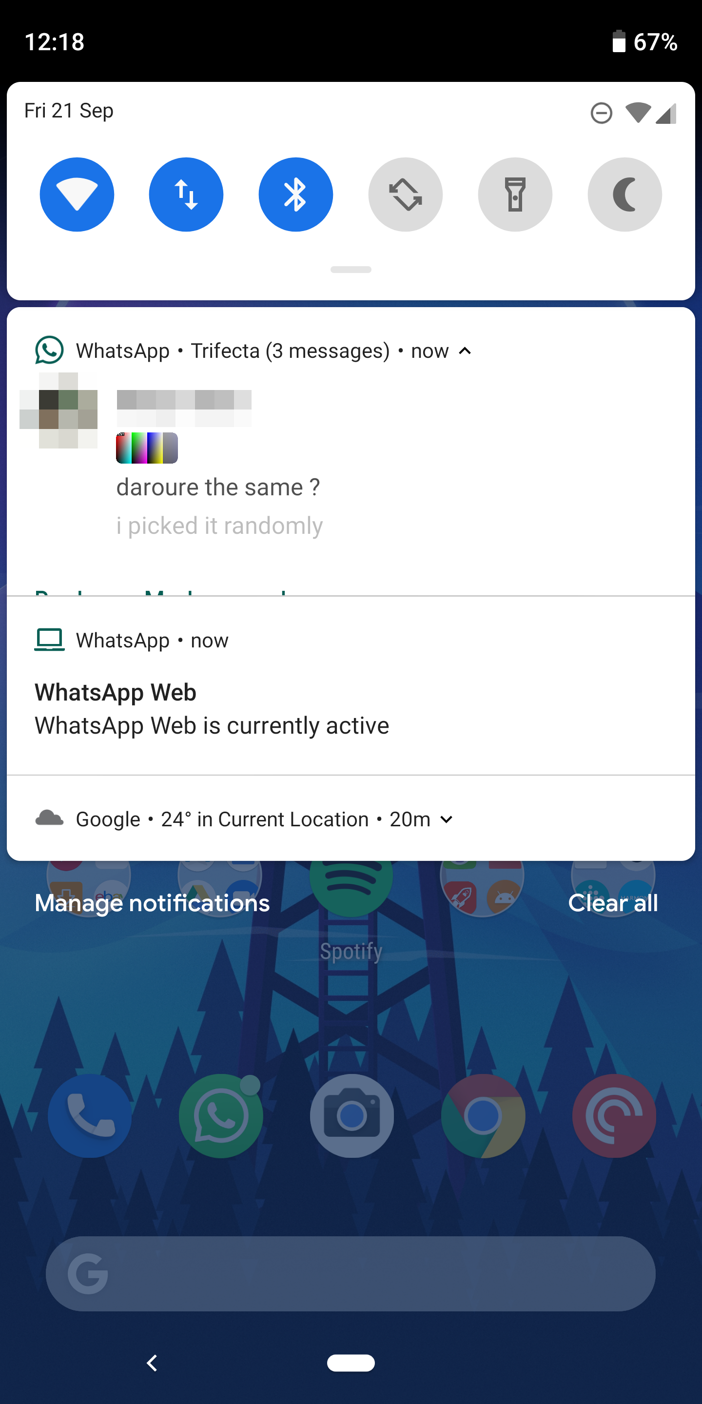 WhatsApp adds Android Pie's native notification inline photos