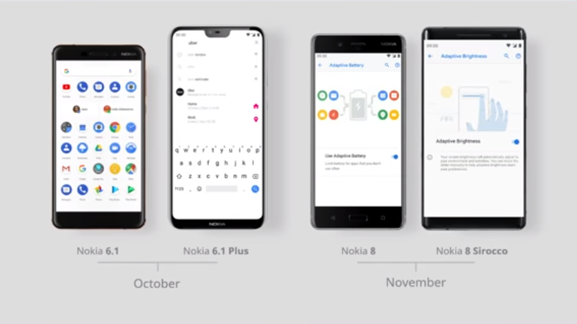 android one pie update