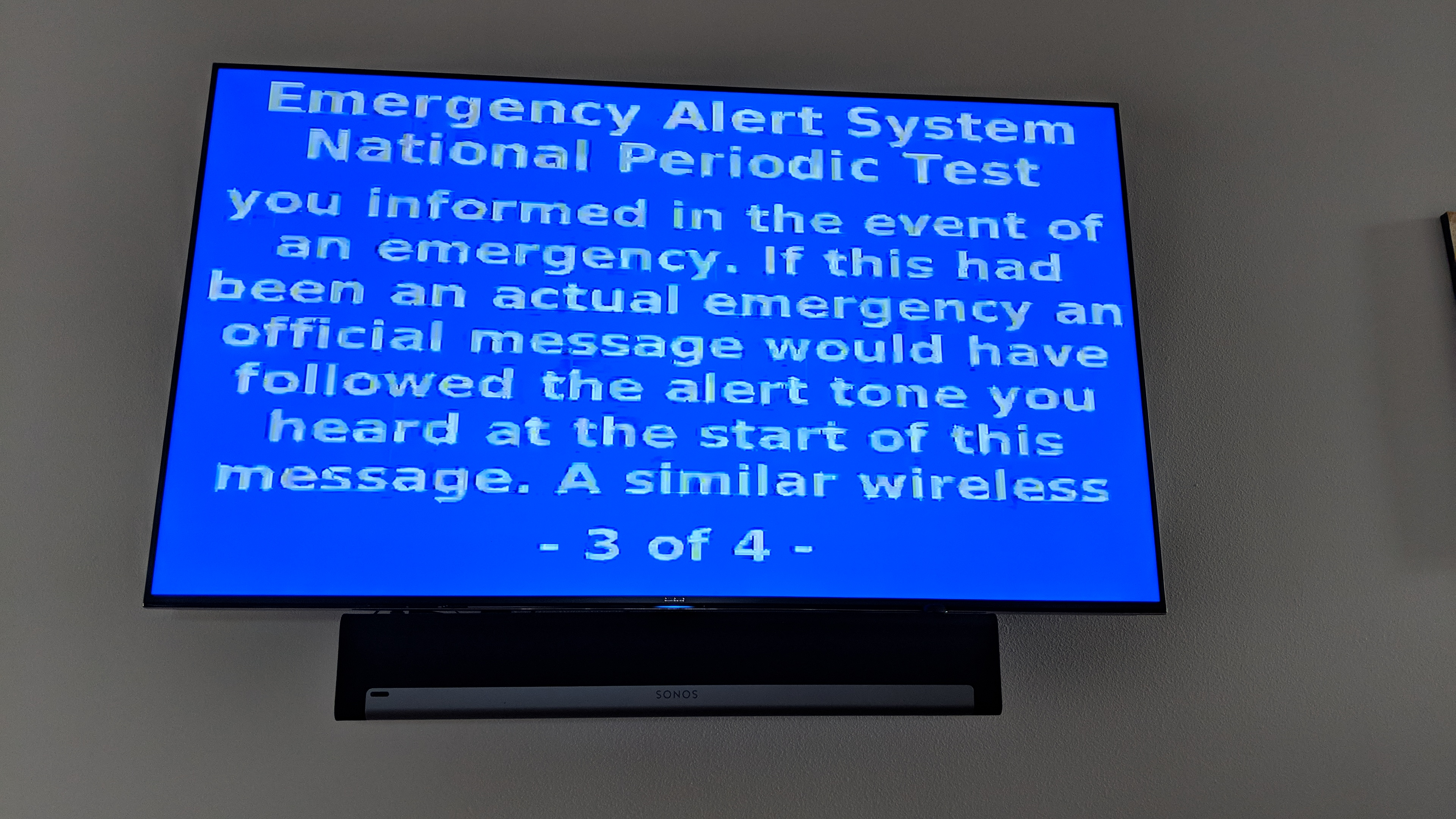 First ever nationwide Wireless Emergency Alert test will
