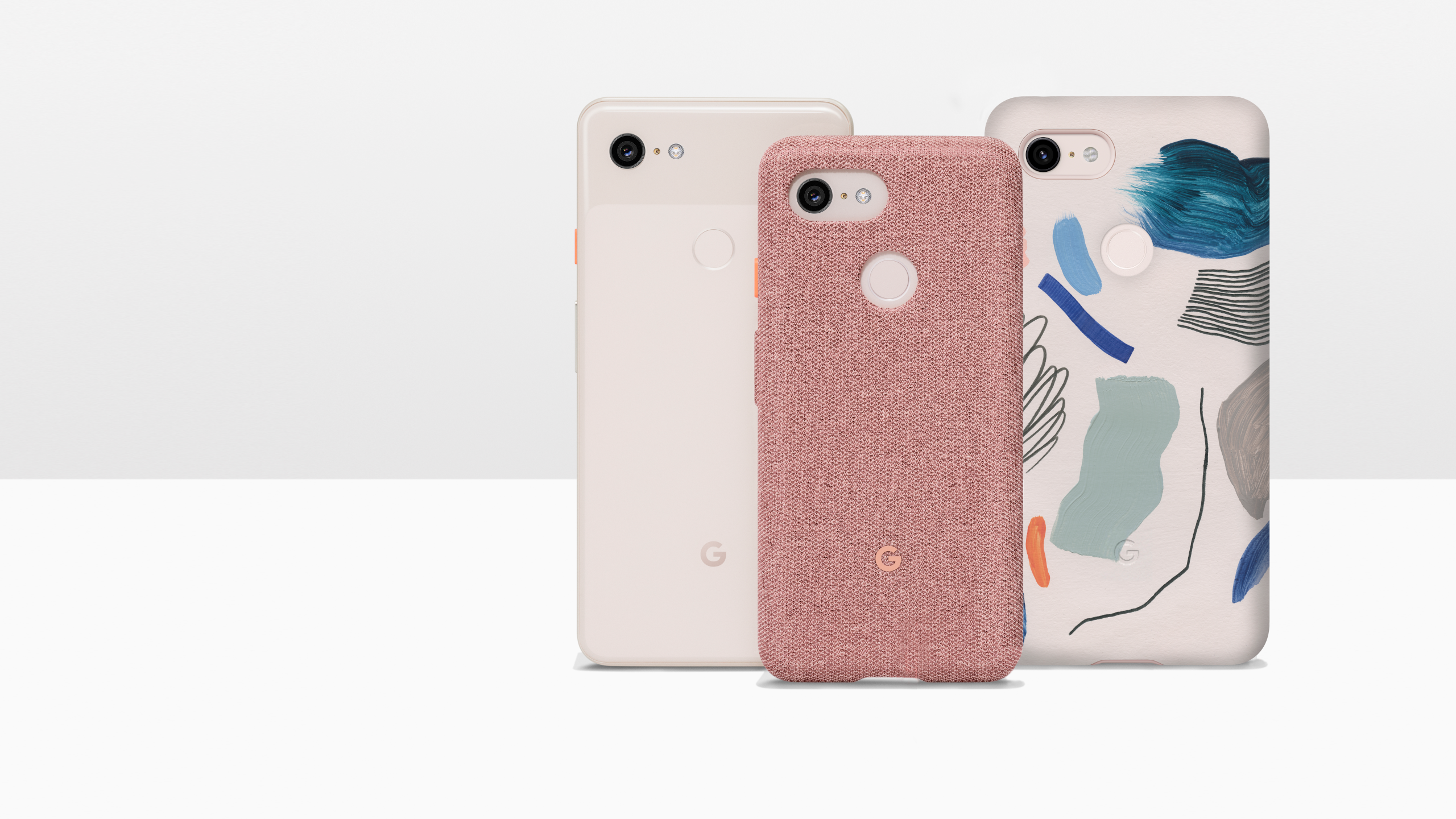 various colors 99b4b 77565 Google's Pixel 3 cases are up for pre-order with new designs, third ...