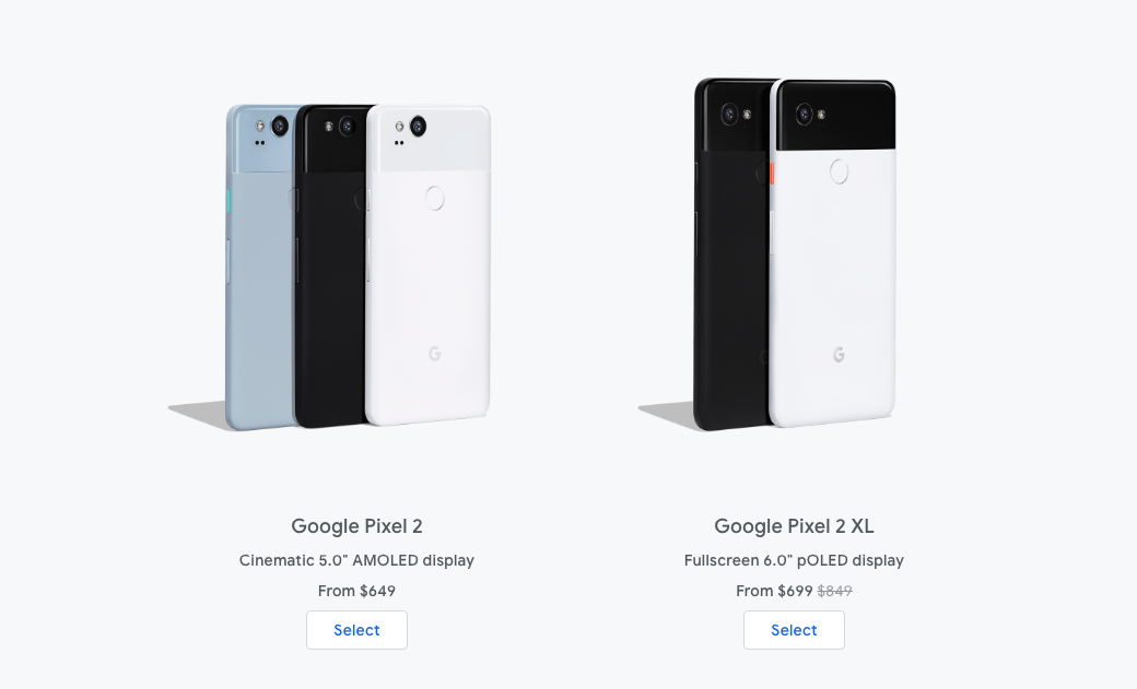 wholesale dealer 79512 66ab3 Pixel 2 XL drops to $699 on the Google Store