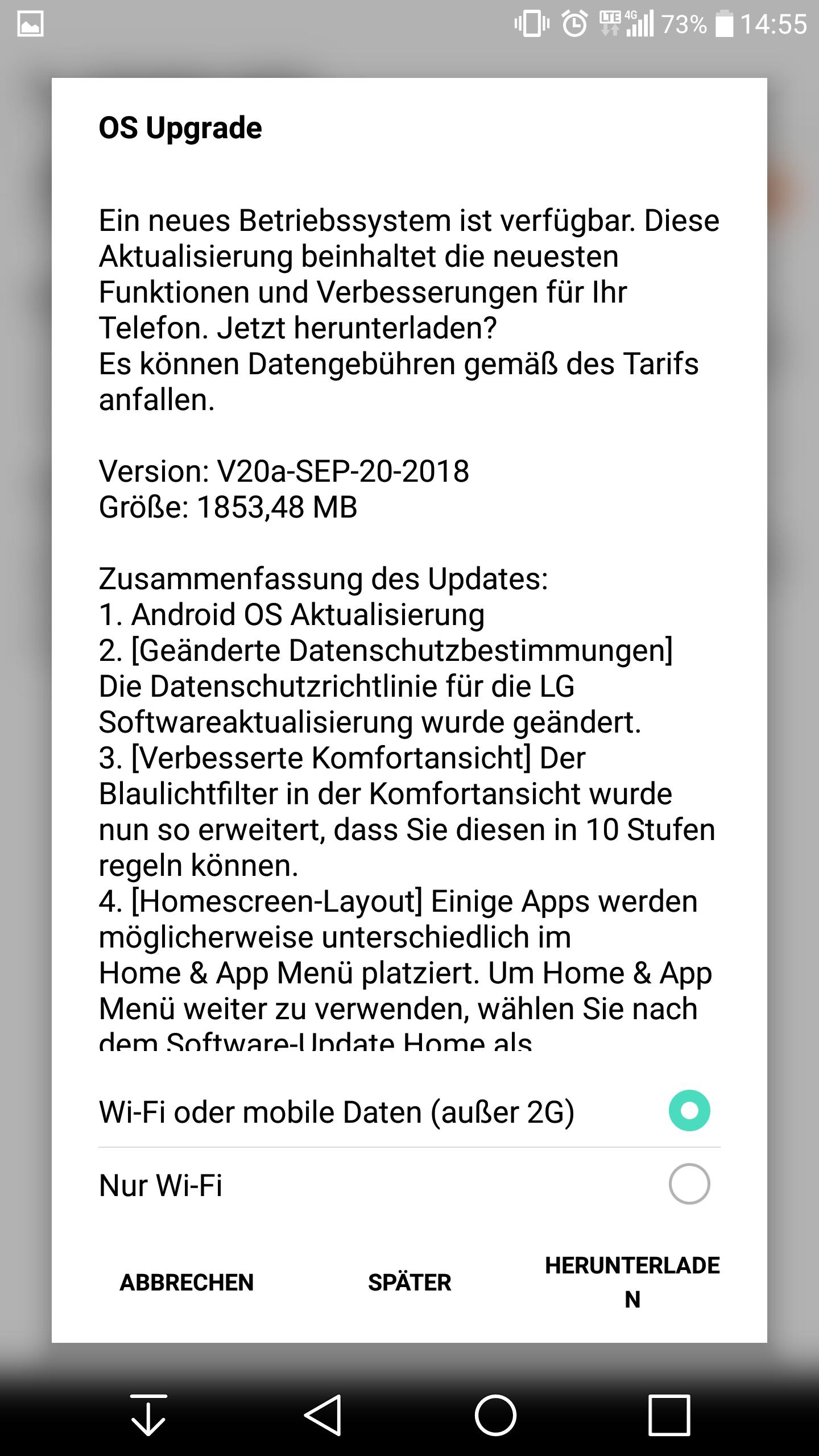 International LG V20 variants now receiving Android 8 0 Oreo