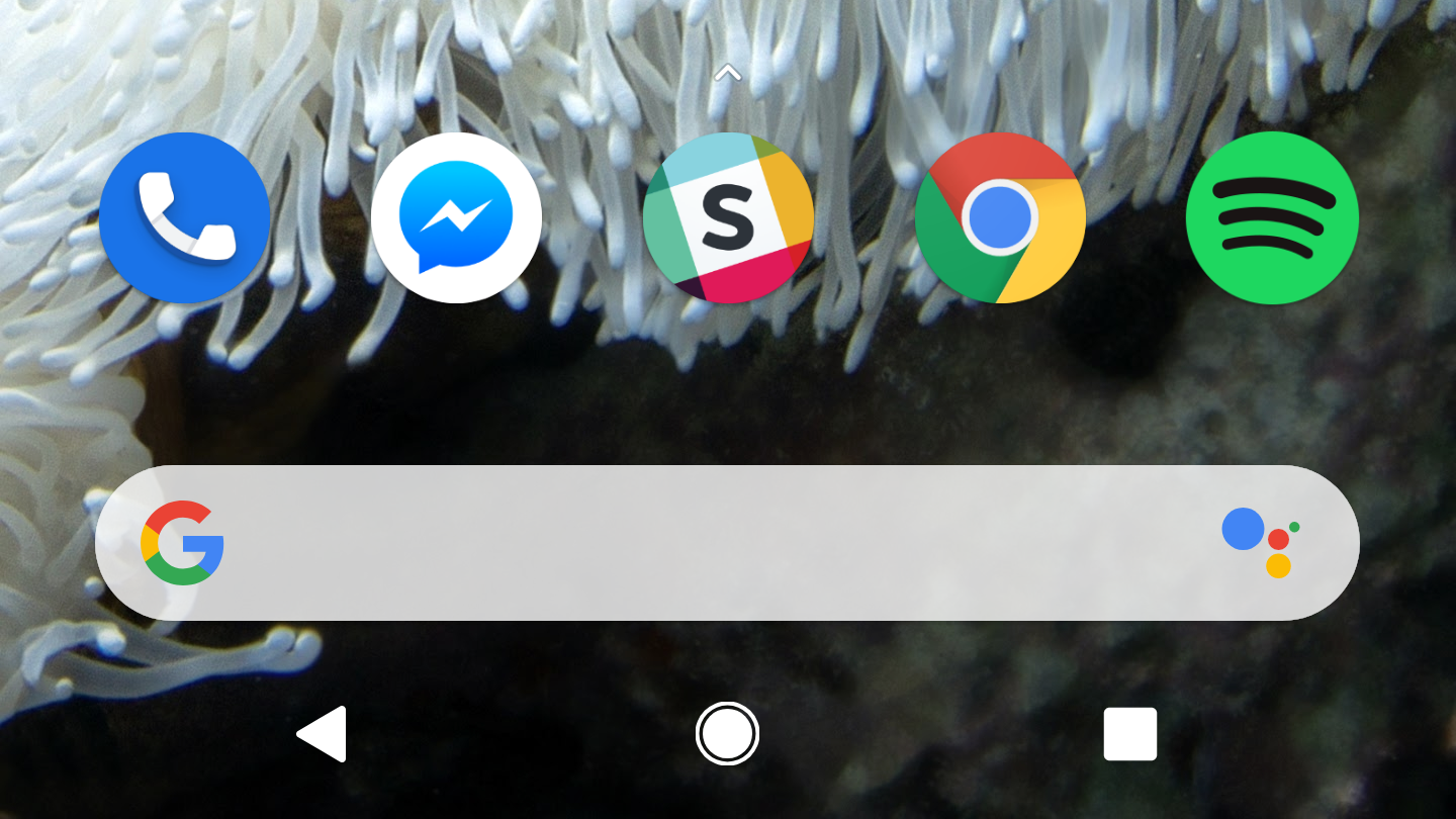 The Pixel Launcher from the Pixel 3 brings the Assistant