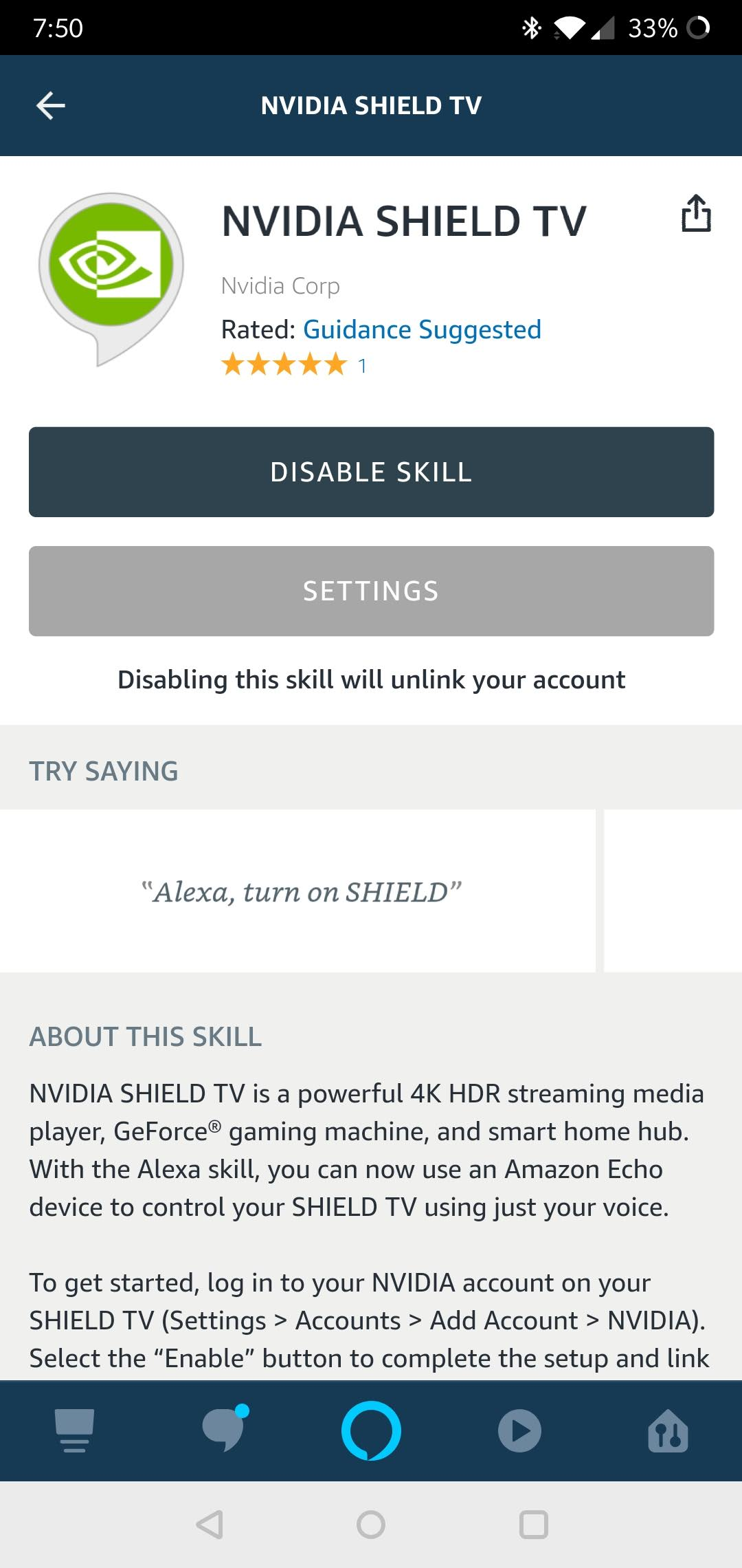 You Can Now Control Your Nvidia Shield Tv With Alexa Theus Pie Face Game To Get Started Open The App Head Over Skills Games And Search For Youll See One Pop Up Called By Corp