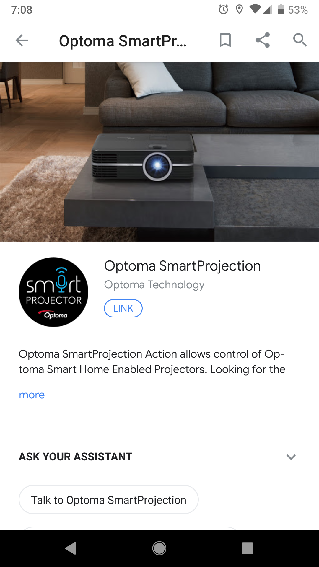Update: Bugs fixed] Optoma UHL55 Android projector review: There's