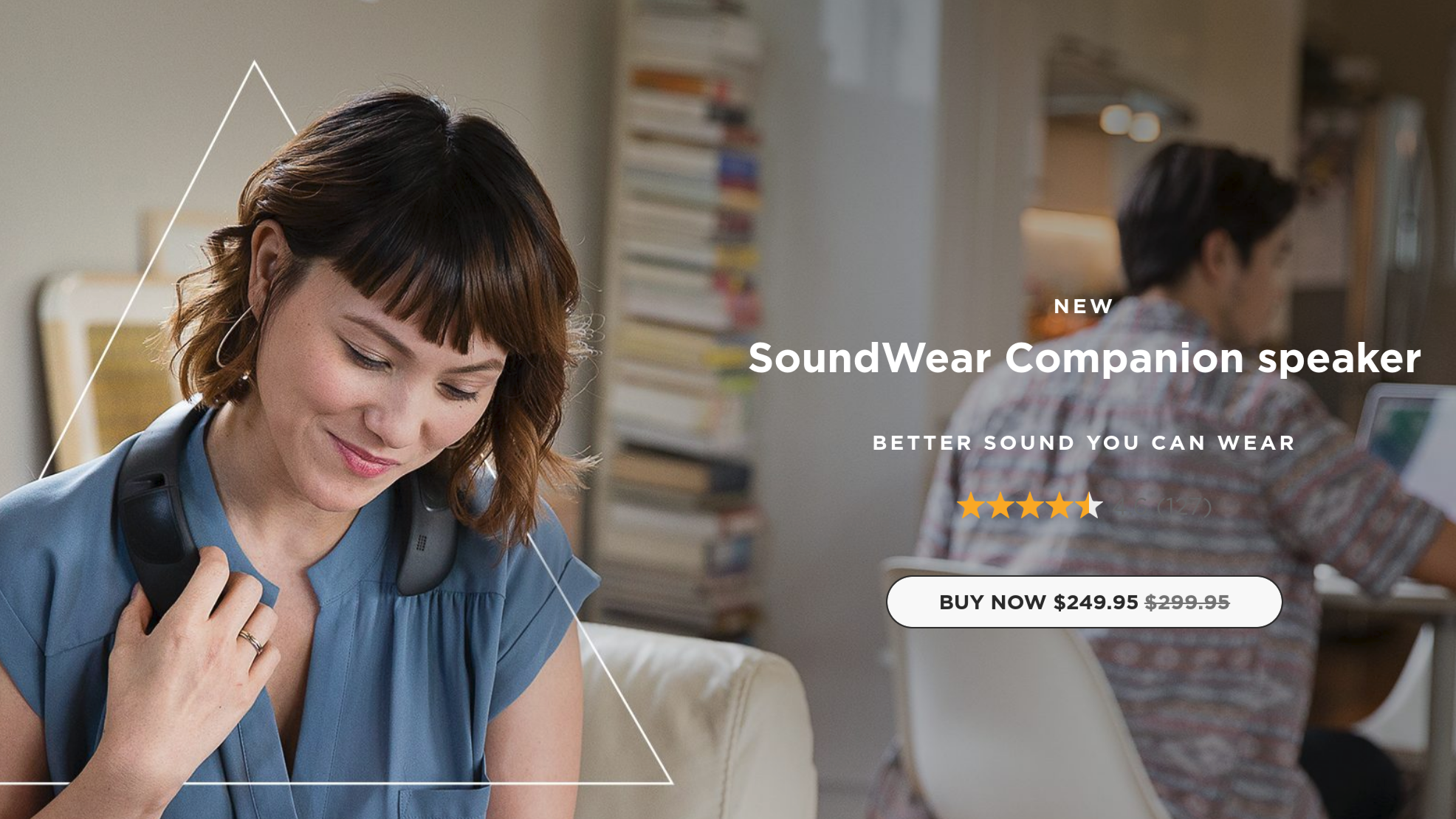 Deal Alert] Grab the Bose SoundWear Companion wearable Bluetooth