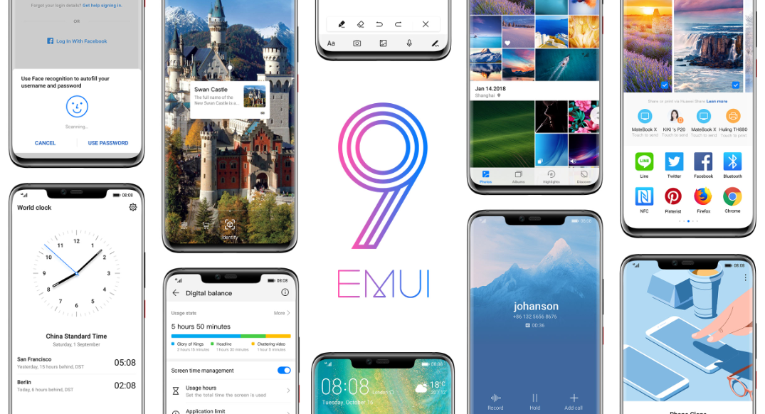Huawei's EMUI 9 0 promises more AI, better performance, and