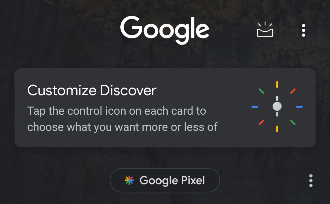 Google finally rolls the new Discover out to the Google beta app