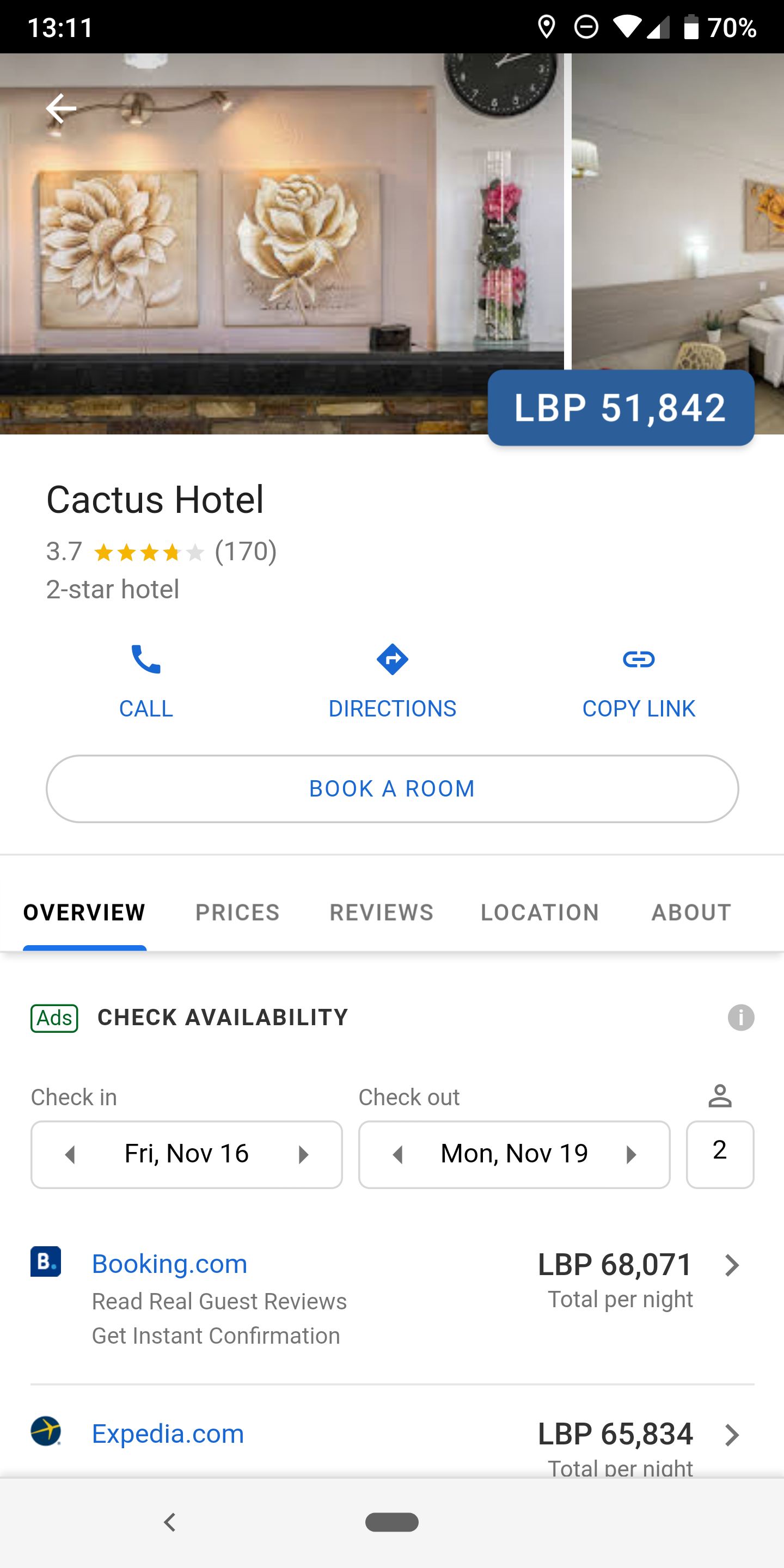 Google Maps overhauls hotel listings with price and location