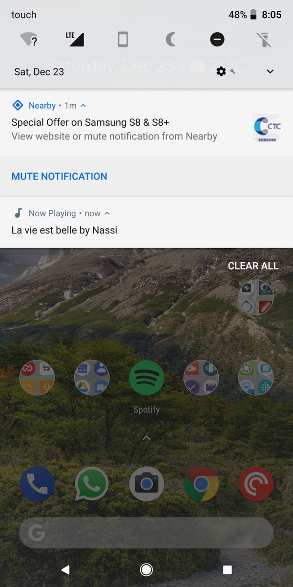 Google shuts down Nearby Notifications due to too much spam