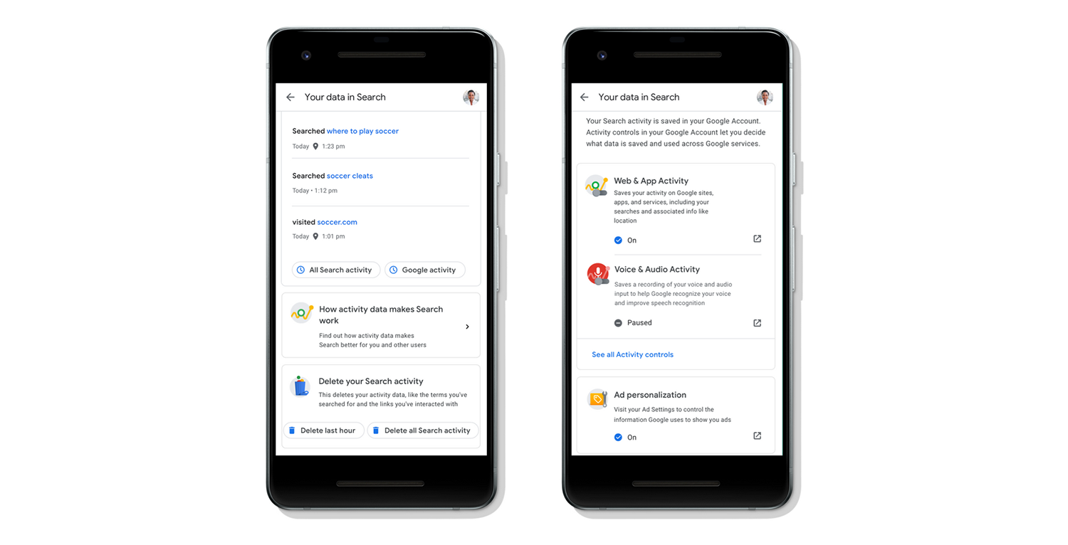 Google brings privacy, data controls to search
