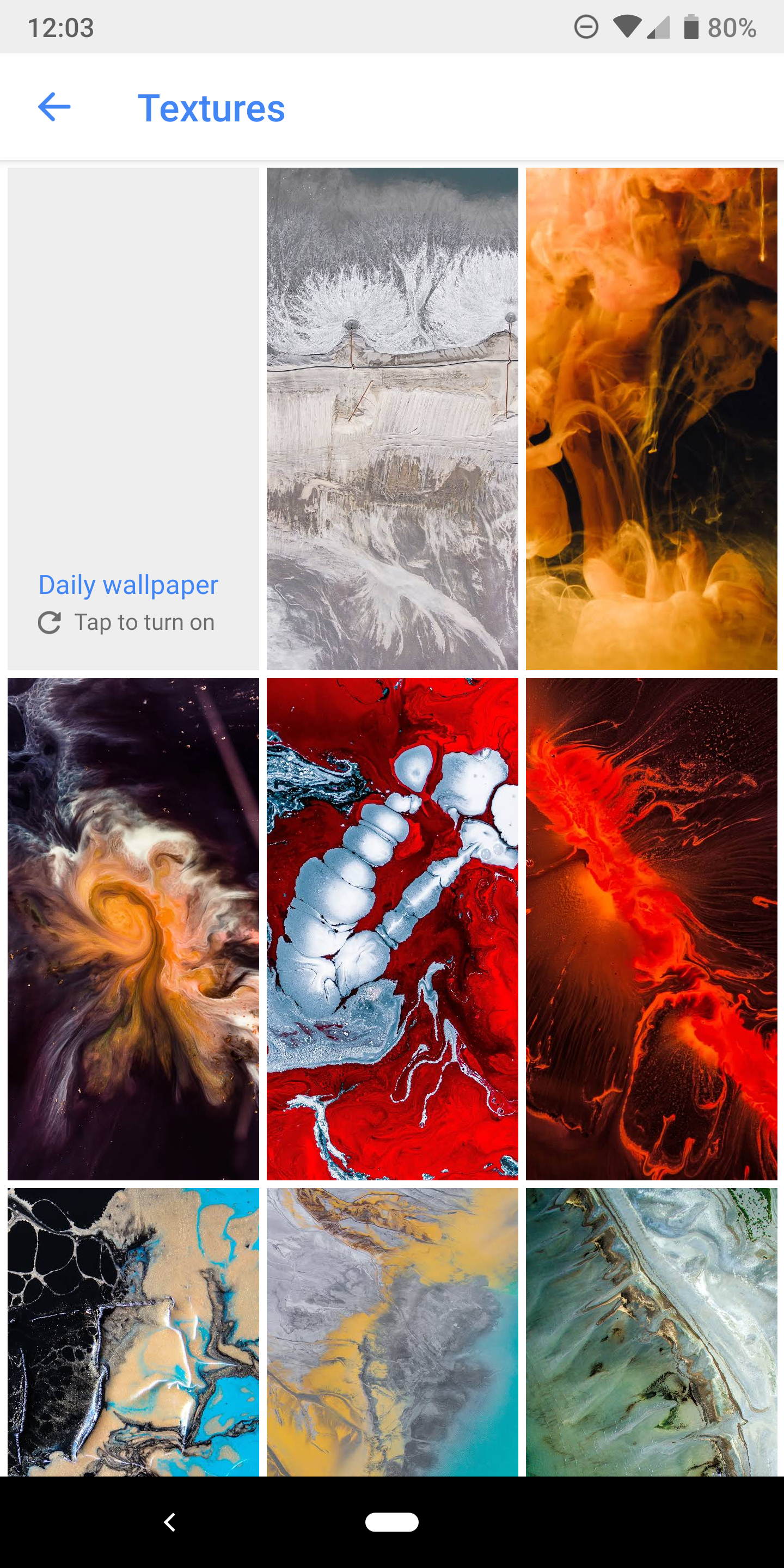 Google Wallpapers adds dozens of new wallpapers