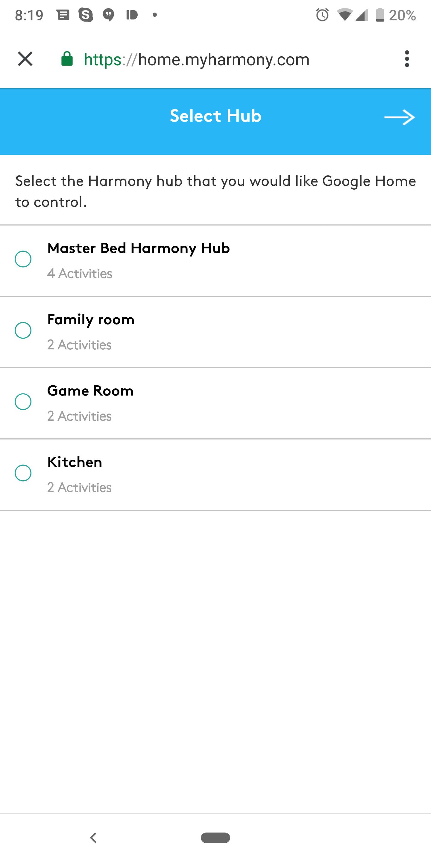 Logitech Harmony direct control is finally live on Google