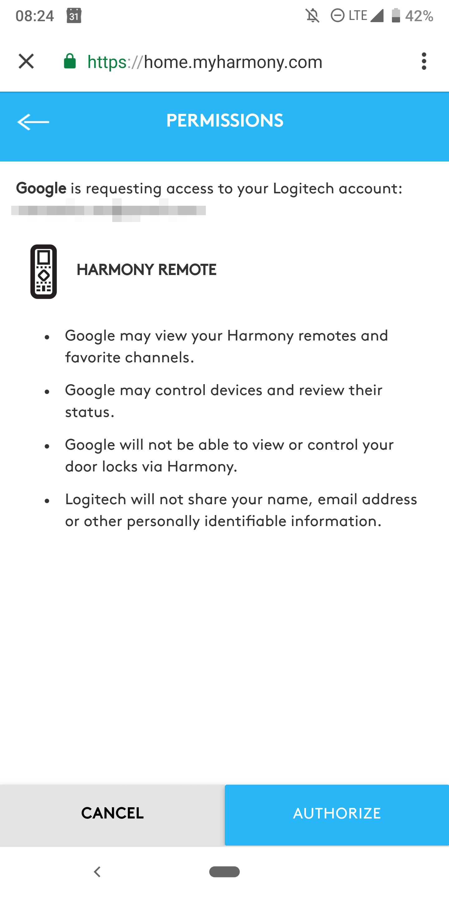 Logitech Harmony direct control is finally live on Google