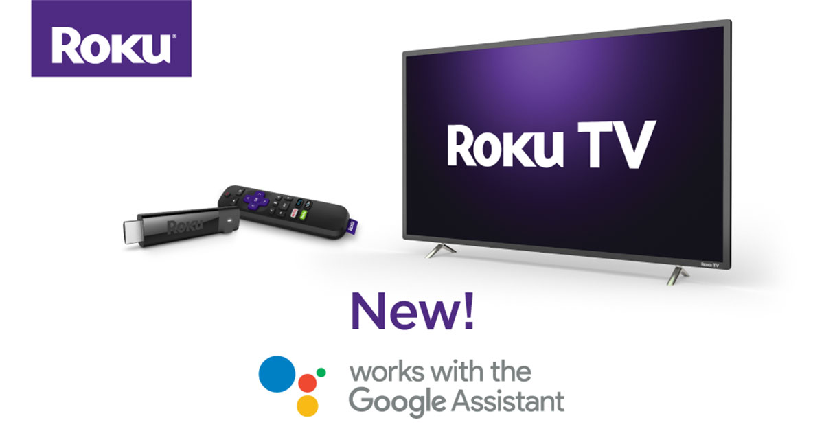 You can now control your Roku from Google Assistant