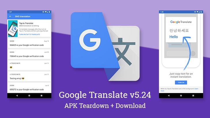 google translate app android download apk