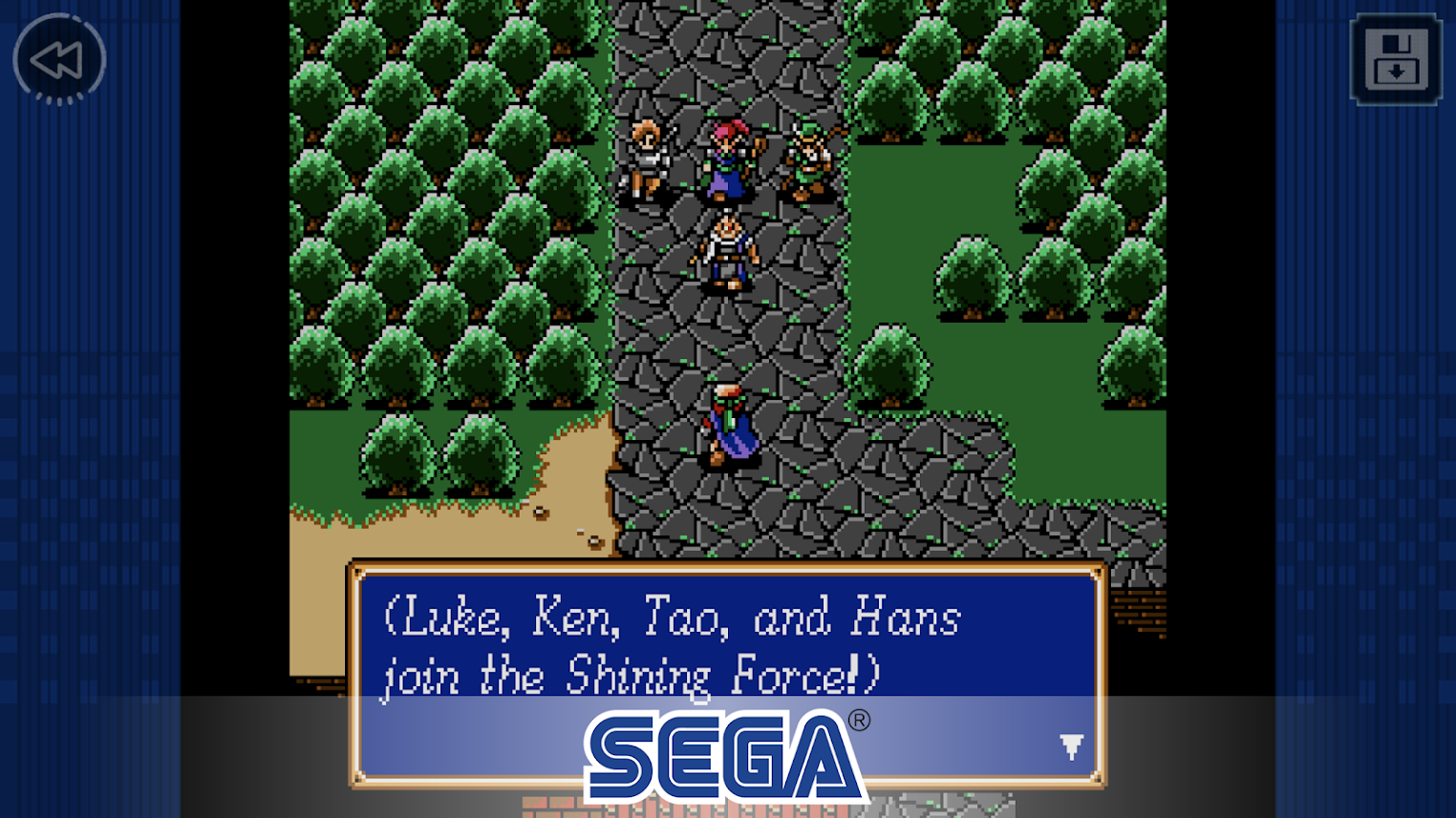 Shining Force Classics is the latest SEGA Forever release on