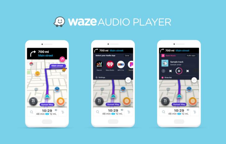 Update: Deezer integration goes live] Waze adds 7 partners