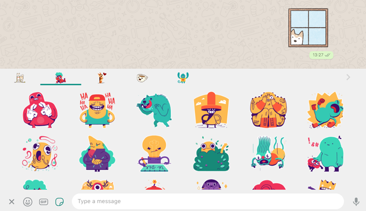 Whatsapp Beta Rolls Out Sticker Packs