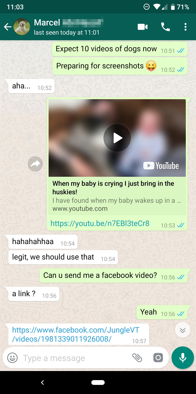 Videos Whatsapp